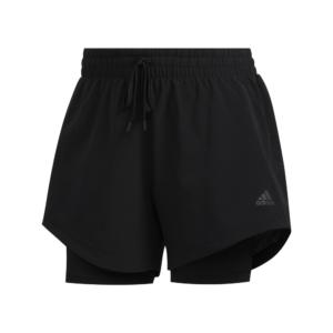 adidas 2-IN-1 Woven short dames zwart